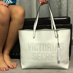 Victoria's Secret Tote With Silver Tassel